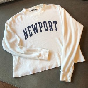 Brandy Melville NEWPORT long sleeve